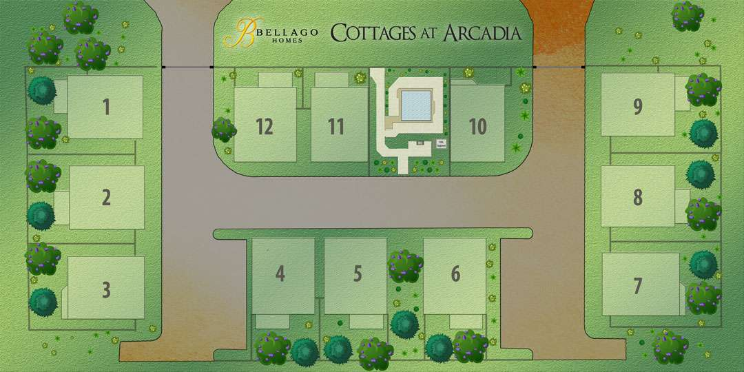 Cottage at Arcadia Map