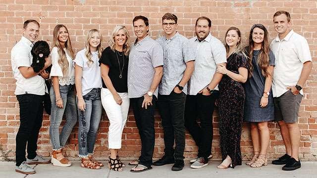 Funk family photo