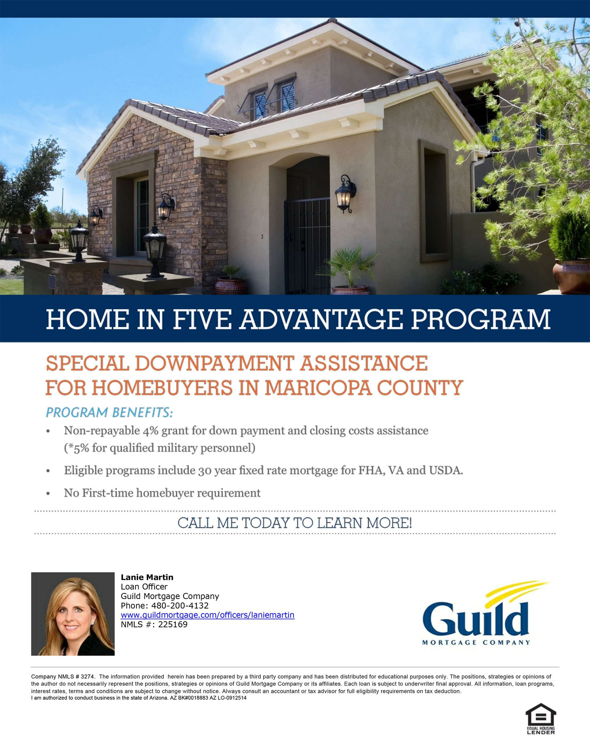 Guild Home in 5 Flyer