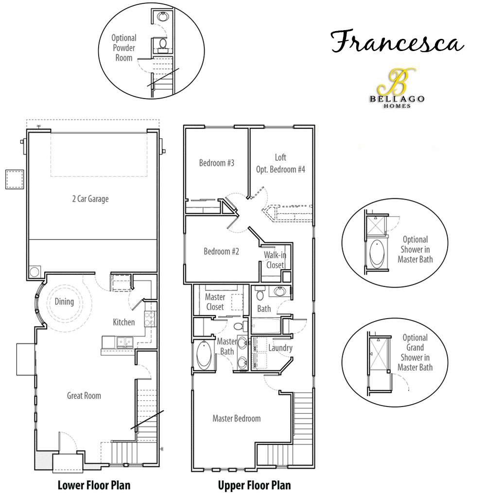 Francesca Floor Plan