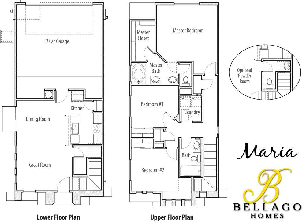 Bellago Homes Maria Floor Plan