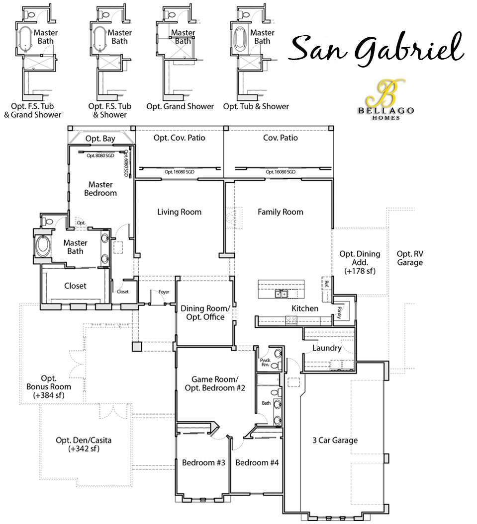 San Gabriel Floor Plan