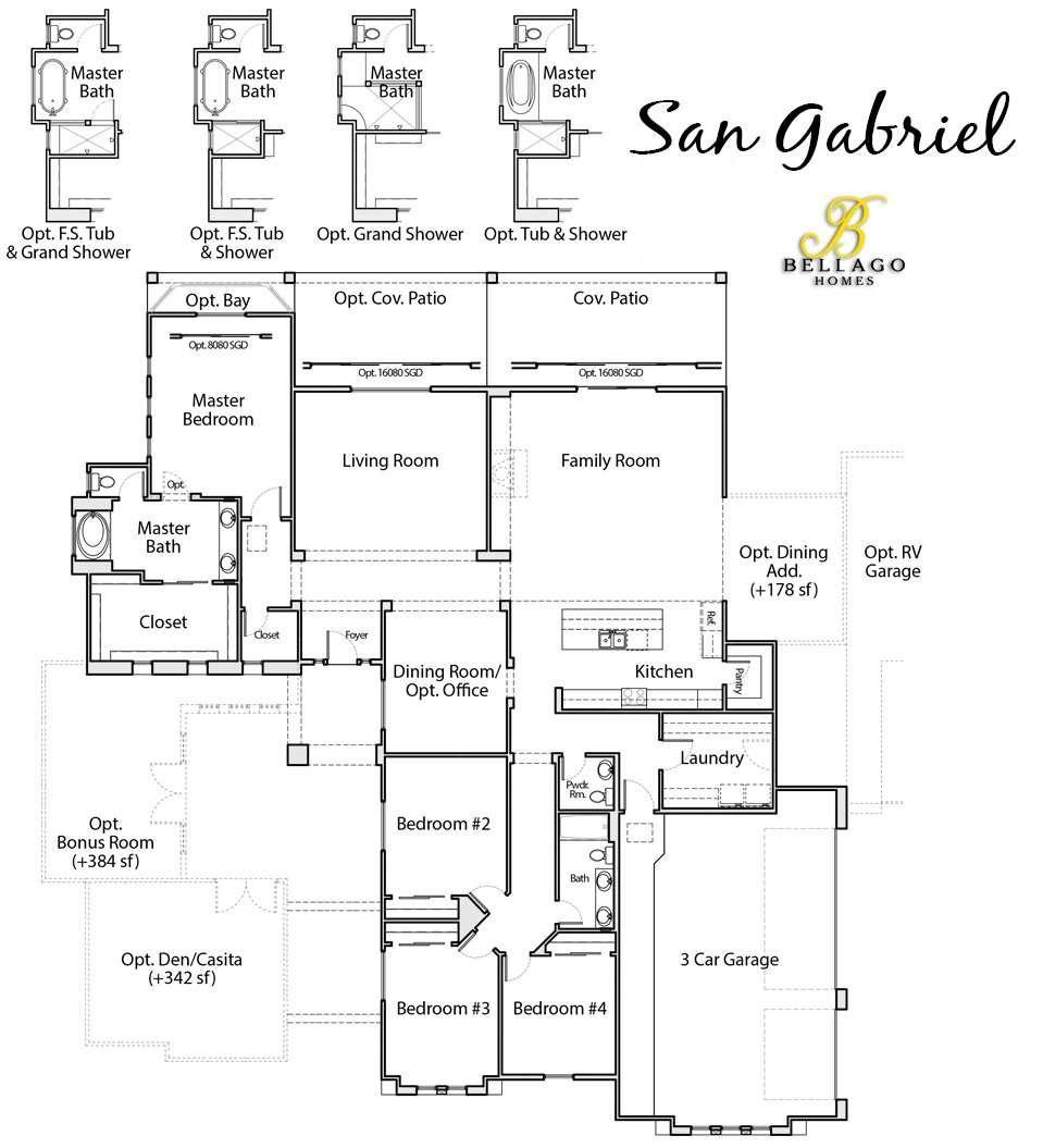 Dobbins Point San Gabriel Floor Plan