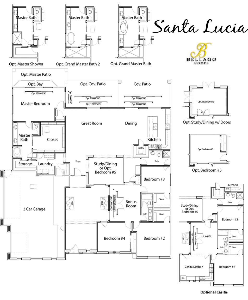 Santa Lucia Floorplan