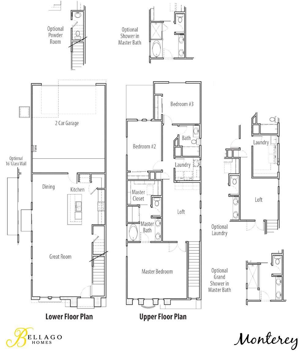 Monterey Floor Plan