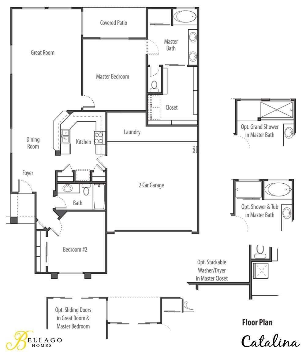 Catalina floor plan bellago homes for Dobbins homes floor plans
