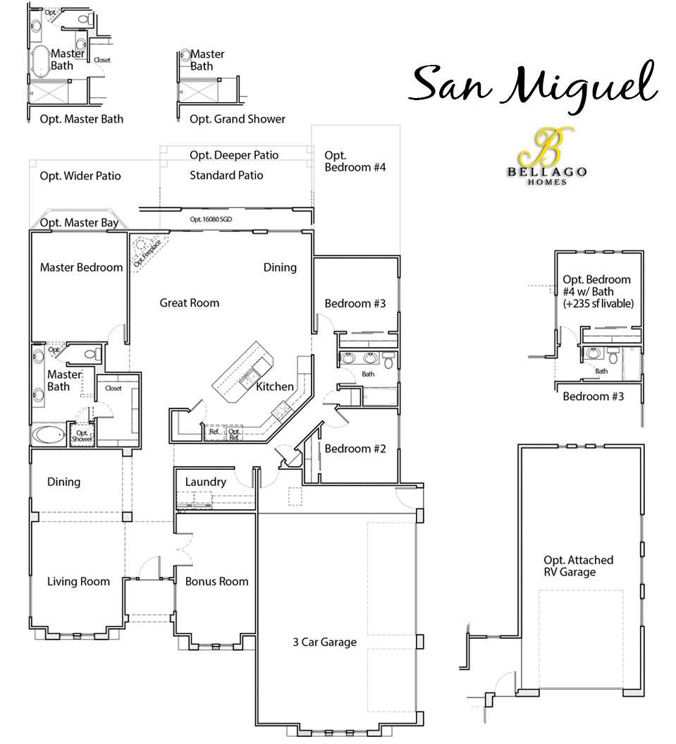 San Miguel Floor Plan