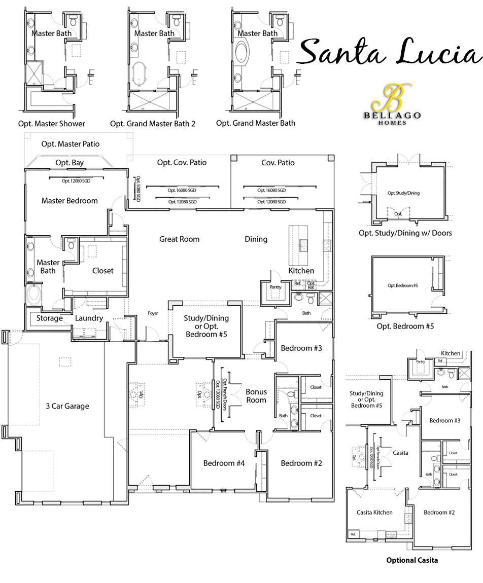 Santa Lucia Floor Plan